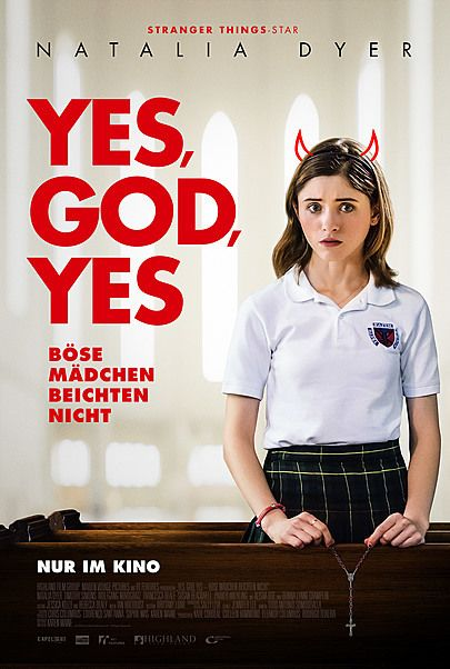 "Movie poster for ""YES, GOD, YES"""