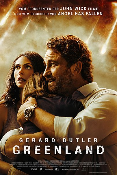 """Movie poster for """"GREENLAND"""""""