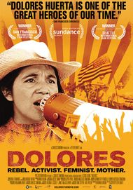 "Movie poster for ""DOLORES"""