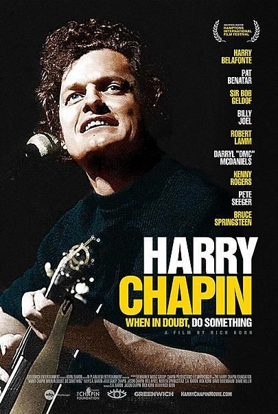 """Movie poster for """"HARRY CHAPIN: WHEN IN DOUBT, DO SOMETHING"""""""