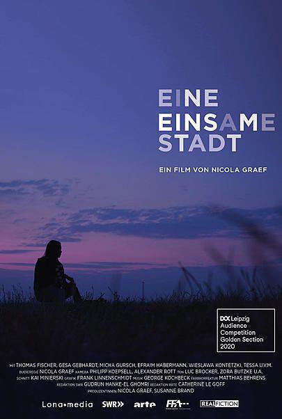 """Movie poster for """"EINE EINSAME STADT"""""""