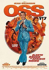 """Affiche du film """"OSS 117 : ALERTE ROUGE EN AFRIQUE NOIR"""""""