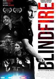 "Movie poster for ""BLINDFIRE"""