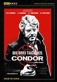 "Movie poster for ""THREE DAYS OF THE CONDOR"""
