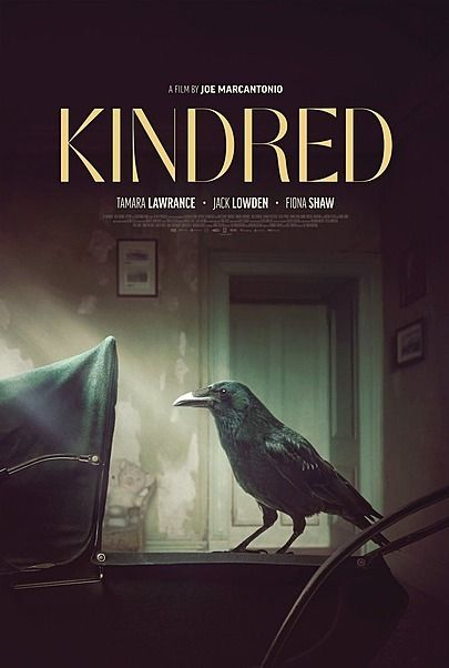 """Movie poster for """"KINDRED"""""""
