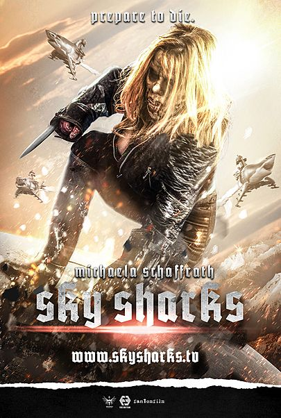 "Filmplakat für ""SKY SHARKS"""