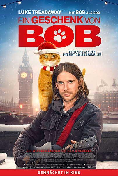 """Filmplakat für """"EIN GESCHENK VON BOB"""""""