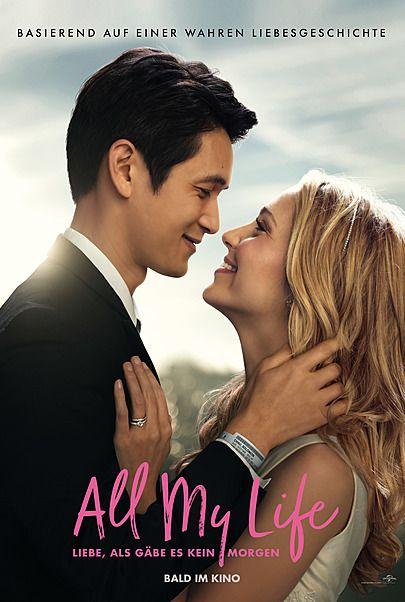 """Filmplakat für """"ALL MY LIFE - LIEBE, ALS GÄBE ES KEIN MORGEN"""""""