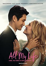 "Movie poster for ""ALL MY LIFE"""