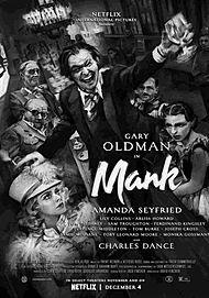 """Filmplakat für """"Mank"""""""