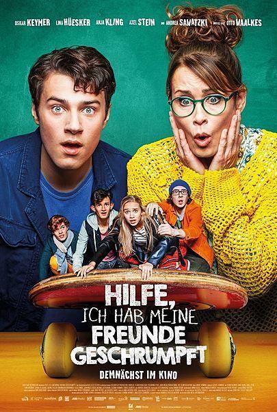 """Filmplakat für """"HILFE, ICH HAB MEINE FREUNDE GESCHRUMPFT"""""""