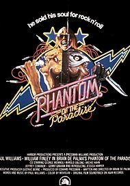 "Affiche du film ""PHANTOM OF THE PARADISE """