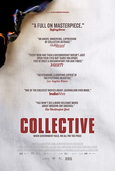 """Movie poster for """"COLLECTIVE"""""""