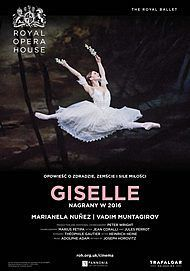"Movie poster for ""GISELLE - ROYAL OPERA HOUSE 2020"""