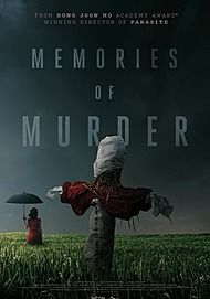 "Movie poster for ""MEMORIES OF MURDER"""
