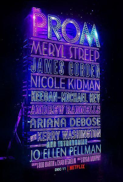 """Filmplakat für """"THE PROM"""""""