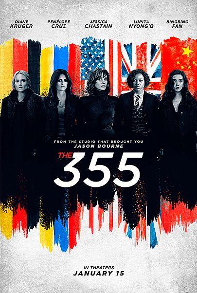 """Filmplakat für """"The 355"""""""