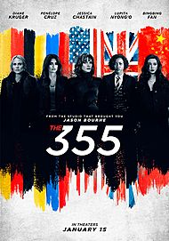 "Movie poster for ""The 355"""