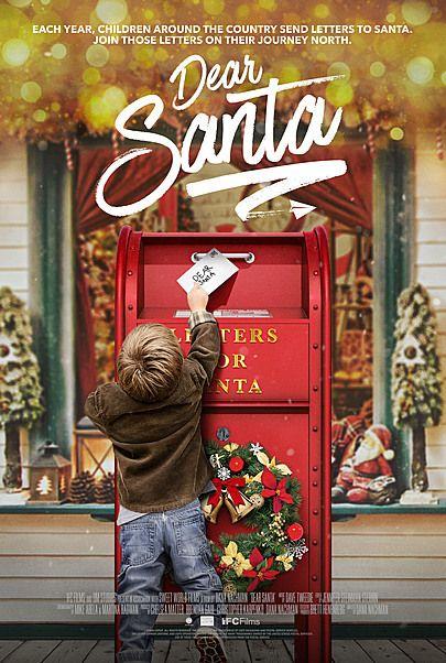 "Movie poster for ""DEAR SANTA"""