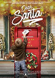 "Movie poster for ""DEAR SANTA"""