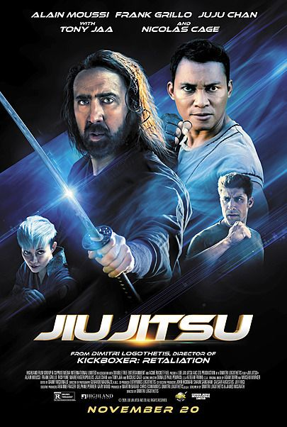 "Movie poster for ""JIU JITSU"""