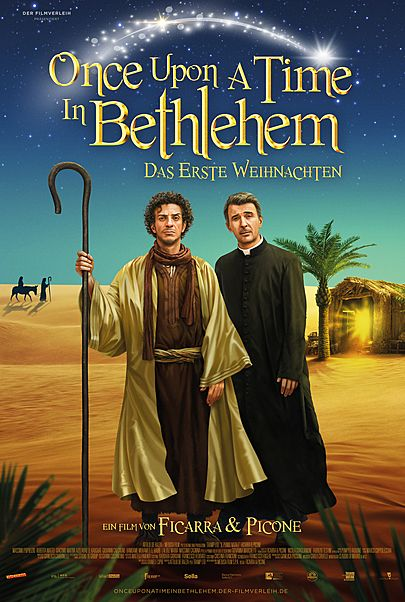 """Movie poster for """"ONCE UPONE A TIME IN BETHLEHEM"""""""