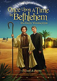 "Movie poster for ""ONCE UPONE A TIME IN BETHLEHEM"""