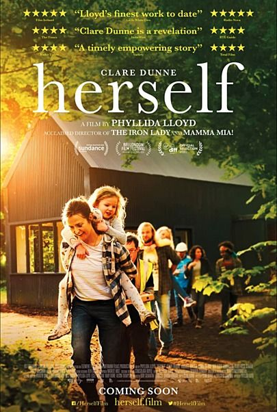 """Movie poster for """"HERSELF"""""""