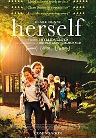 "Movie poster for ""HERSELF"""