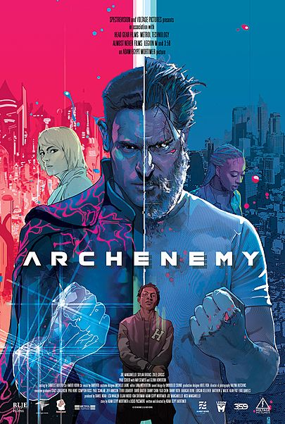 "Movie poster for ""ARCHENEMY"""