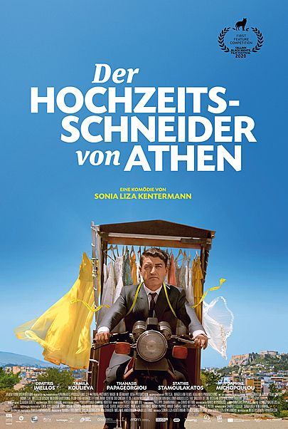 """Filmplakat für """"DER HOCHZEITSSCHNEIDER VON ATHEN"""""""