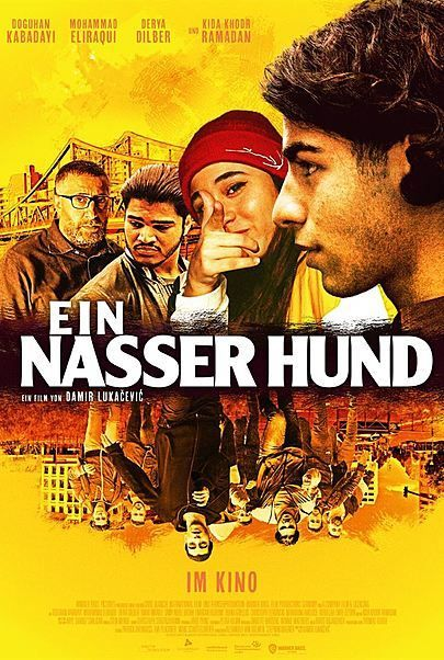 "Movie poster for ""EIN NASSER HUND"""
