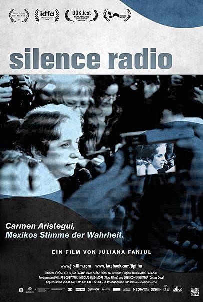 """Filmplakat für """"SILENCE RADIO"""""""