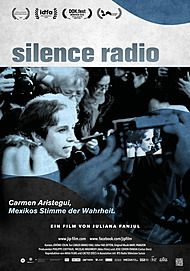 "Movie poster for ""SILENCE RADIO"""
