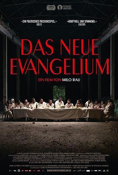 """Filmplakat für """"DAS NEUE EVANGELIUM"""""""