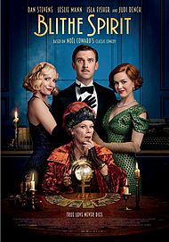 "Movie poster for ""BLITHE SPIRIT"""