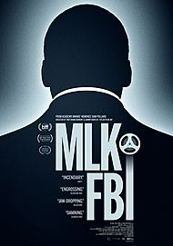 "Movie poster for ""MLK/FBI"""