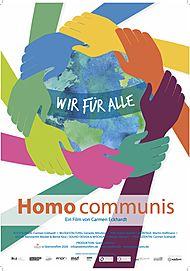 """Filmplakat für """"HOMO COMMUNIS – WIR FÜR ALLE"""""""