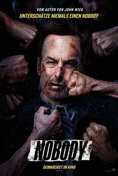 """Movie poster for """"NOBODY"""""""