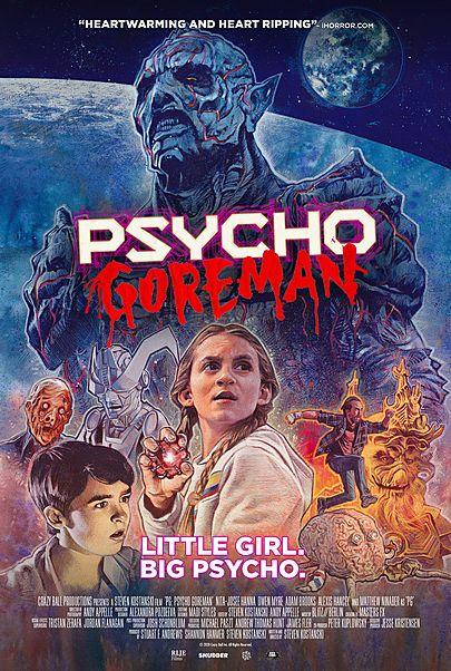 "Movie poster for ""PG: PSYCHO GOREMAN"""