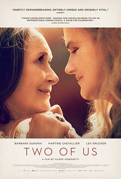 "Movie poster for ""TWO OF US"""