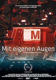 """Filmplakat für """"MIT EIGENEN AUGEN"""""""