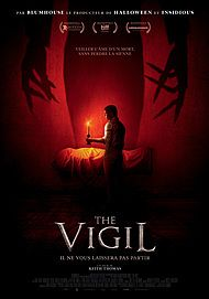 """Movie poster for """"THE VIGIL"""""""