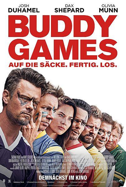"""Filmplakat für """"BUDDY GAMES"""""""