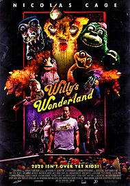 "Movie poster for ""WILLY'S WONDERLAND"""
