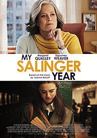 "Movie poster for ""MY SALINGER YEAR"""