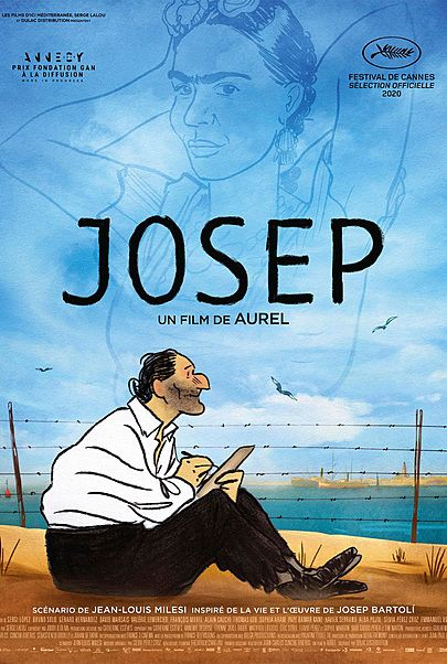 "Movie poster for ""JOSEP"""