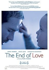 "Movie poster for ""THE END OF LOVE"""
