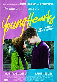 "Movie poster for ""YOUNG HEARTS"""