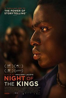 "Movie poster for ""NIGHT OF THE KINGS"""